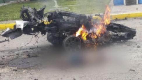 Atentado con coche bomba revive el terror en Colombia: hay 10 muertos