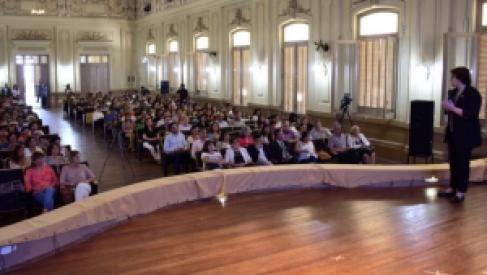 Con un detallado informe, Calsina habló de gestión ministerial y reconfirma continuidad de acciones