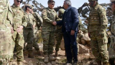Gerardo Morales visitó la zona militarizada en el norte de la provincia