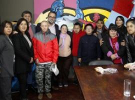 """Día Mundial del Síndrome de Down: Concejales recibieron a la compañía """"Ecos de Luz"""""""
