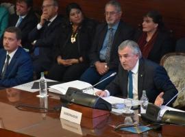 Gerardo Morales dio su discurso en la Legislatura y aseguró la continuidad de un proyecto político