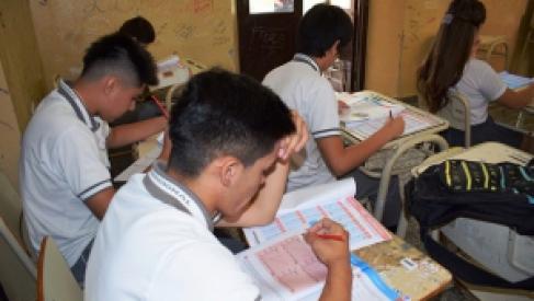 Se desarrolla en todo el país la evaluación Aprender