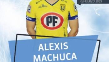 ALEXIS MACHUCA ES LA SEGUNDA INCORPORACIÓN DE GIMNASIA Y ESGRIMA