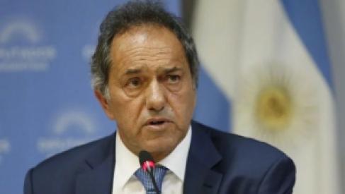 """""""Es momento de que gane la gente"""": Scioli ratificó su precandidatura a Presidente"""