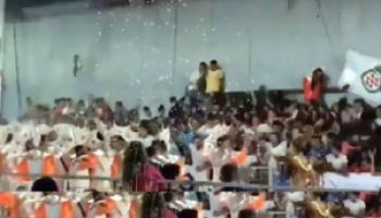 Córdoba: Se desplomó una tribuna en un carnaval. El saldo fue de34 heridos