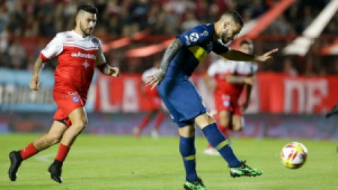 Copa de la Superliga: Argentinos y Boca empataron en el partido de ida
