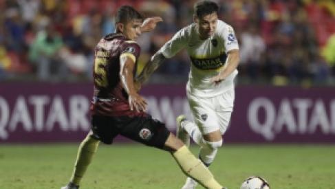 Boca empató con Deportes Tolima y está casi clasificado a octavos