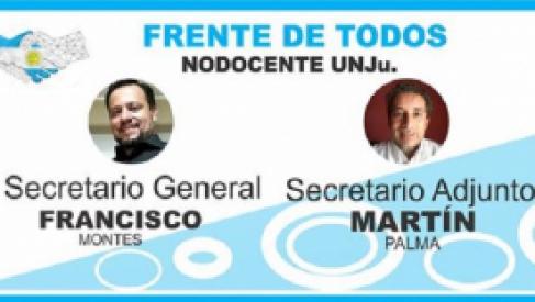 El Frente de Todos ganó las elecciones no docentes de la UNJu