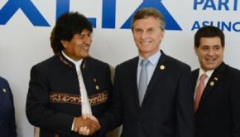 Macri recibe a Evo en la Casa Rosada: La agenda incluye gas y el convenio de reciprocidad en Salud