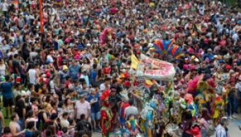 La Ciudad Cultural estuvo endiablada en la antesala del Carnaval