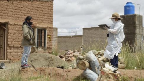 El operativo sanitario se trasladó hacia Abra Pampa y el personal de Salud testea para detectar casos de coronavirus