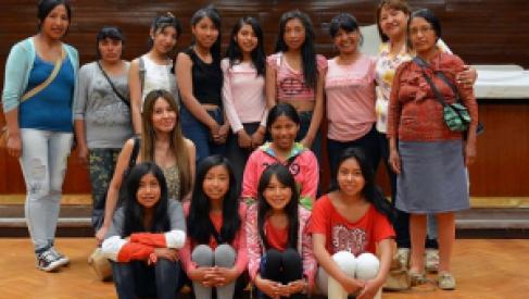 Alumnas de Coranzulí visitaron la capital jujeña