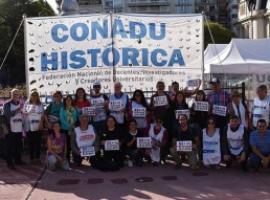 Sigue el reclamo: Adiunju se suma al paro de 48 horas propuesto por CONADU Histórica
