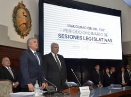El discurso de Morales: Mirá las imágenes de la sesión política en la Legislatura