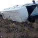 Humahuaca: Una trafic que trasladaba a docentes volcó en la Ruta 14, hay varios heridos