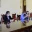 Tecchi y Calvó sellaron acuerdo de cooperación de la UNJU para el proyecto de formación en la Seguridad Pública